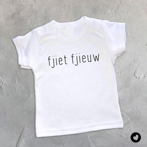 Babyshirt-fjiet-wit