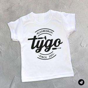 Babyshirt-naam-klus-wit