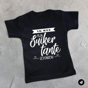Babyshirt-peettante-zwart
