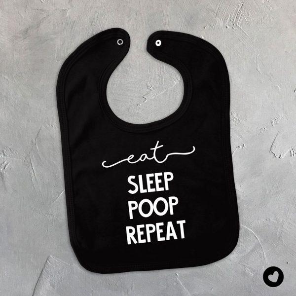 slabber-eat-sleep-zwart
