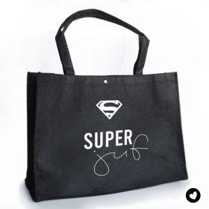 vilten-tas-zwart-super-juf