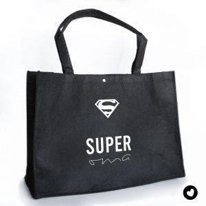 vilten-tas-zwart-super-oma