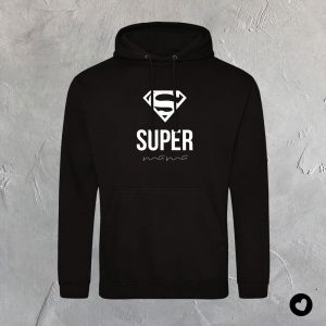 volwassenen-hoodie-super-mama