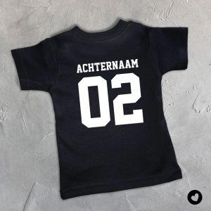 Babyshirt-zwart-duo-achternaam
